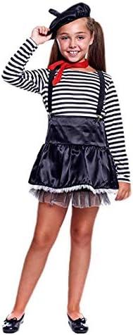 Disfraz Mimo Niña (5-6 años) (+ Tallas) Carnaval Profesiones ...