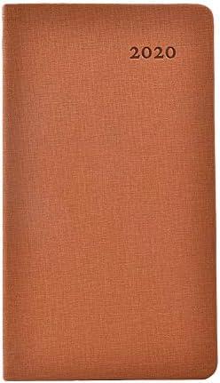 """Eruditter Notizblock A6 2020 Taschenkalender Skizzenbuch Skizzenblock Schreibblock Zeichenblock Für Tagebuch Business Journal Travel Daily Record 6.7"""" X 3.7"""""""