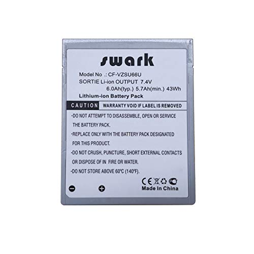 (Swark Replacement CF-VZSU66U Battery Compatible with Panasonic Toughbook CF-C1)