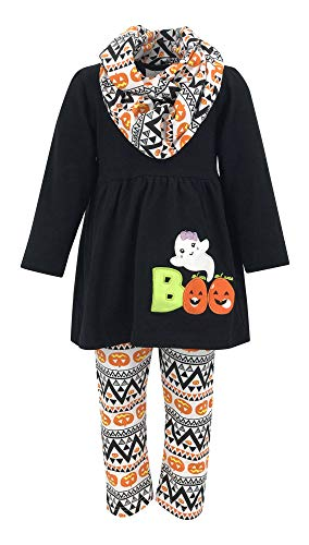 Unique Baby Girls 3 Piece Halloween Legging Set