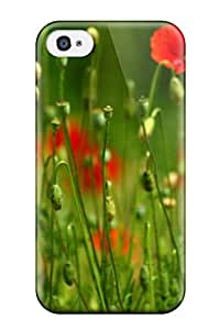 Hot Fashion GflqZmU6875CAKof Design Case Cover For Iphone 4/4s Protective Case (flower)