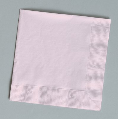 (Classic Pink Dinner Napkins (3-Ply)(25 Pack) )