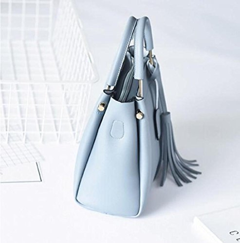 Blue Ajlbt Messenger Bolso Borla Mujer Hombro De Bag Coreana Moda FwavRqzFU