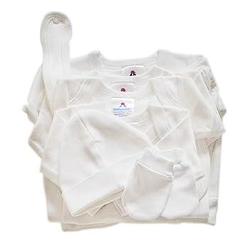 16c07ef18 BabywearUK Essentials Starter Pack (White) - Newborn size - British Made