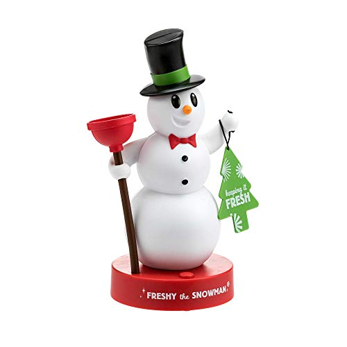 Talking Snowman - Hallmark Freshy The Snowman, Motion Activated Figurine, Talks When You Enter The Bathroom