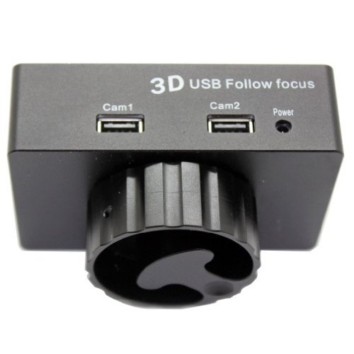 USB Focus Controller Pro 3D USB Follow Focus For DSLR Canon EOS 5D2 5D3 T3i GH1の商品画像
