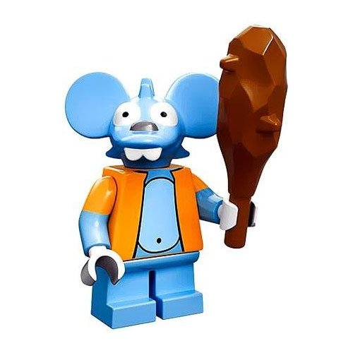 ITCHY with Club LEGO Minifigure The Simpsons