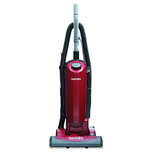 Sanitaire Canister Hepa Vacuums - Sanitaire SC5815D HEPA Filtration Upright Vacuum, 23 lb., 4.5 qt, Red