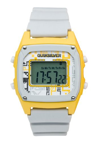 Quiksilver M150DR 14T GRY - Reloj digital de caballero de cuarzo con correa de plástico gris (alarma, luz, cronómetro): Amazon.es: Relojes