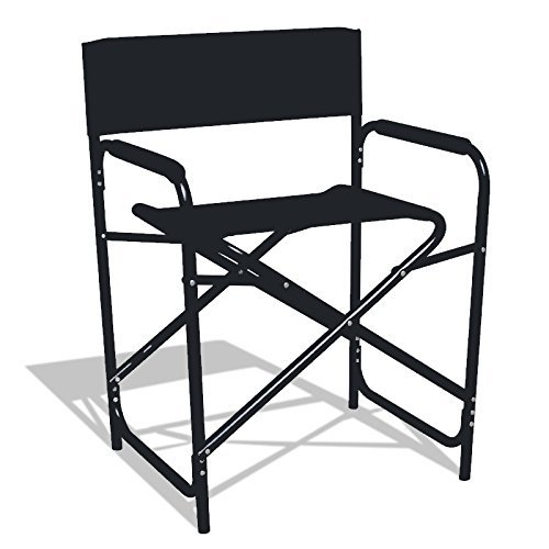 Lightweight Folding Standard Directors Chair with Padded Armrest