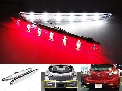 Mazdaspeed 3 Oem Led Tail Lights - 3