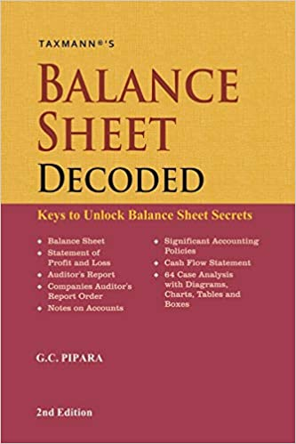 Balance Sheet Decoded-Keys to Unlock Balance Sheet Secrets(2nd Edition July 2019)