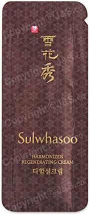 50pcs X Sulwhasoo NEW Harmonizen Regenerating Cream EX 1ml