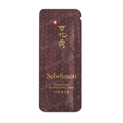 50pcs X Sulwhasoo NEW Harmonizen Regenerating Cream EX 1ml