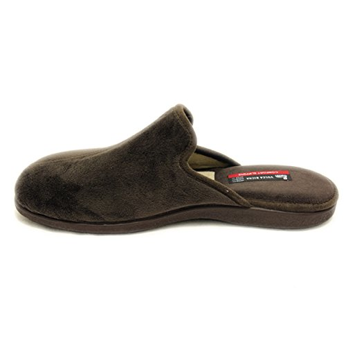 Brown Slippers Men Bicha Dark For Vulca 1qpa75