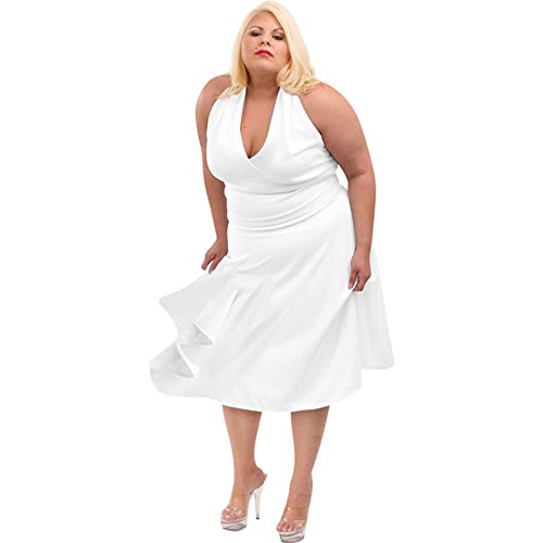 Adult Women's Plus Size Marilyn Dress Costume (16-18) for $<!--$14.95-->