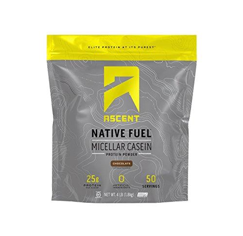 Ascent Native Fuel Micellar Casein Protein Powder – 4 Lbs – Chocolate