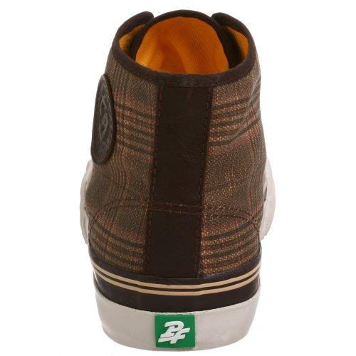 Pf Flyers Unisex Midden Hi Sneaker Bruin