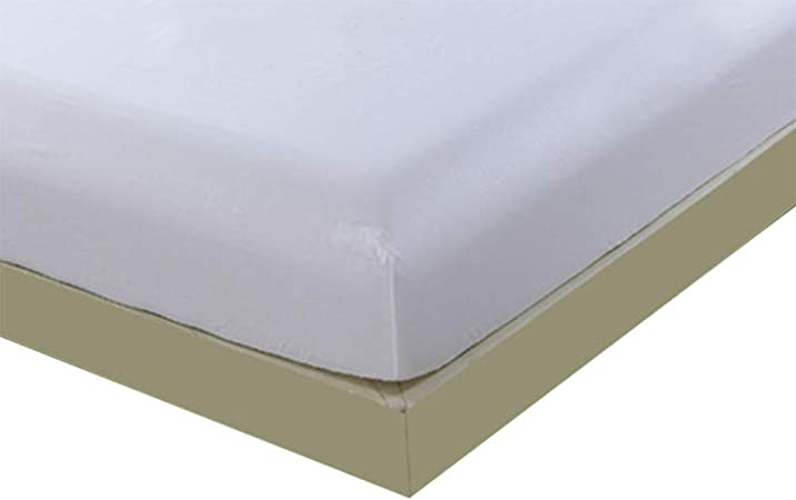 authda – Sábana bajera ajustable de algodón 100% para alta 27 cm estándar Colchón – Sábanas bajeras (8 distintos tamaños, algodón, Blanco, 150 x 190 x 27cm: Amazon.es: Hogar