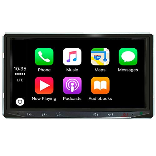ATOTO Year Series in-Dash Digital Media Car Stereo - SA102 CarPlay & Android Auto Receiver w/Bluetooth, AM/FM Radio Tuner,USB Video & Audio,and More