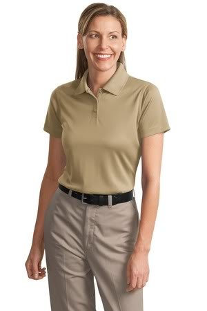 Cornerstone Ladies Select Snag-Proof Polo, Tan, 3XL