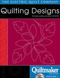 Electric Quilt Quilting Designs-The Quiltmaker Collection Vol (Quiltmaker Collection)