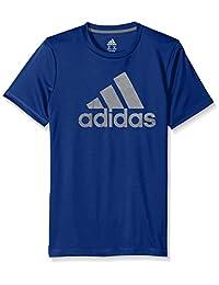 adidas Stay Dry Climalite - Camiseta de manga corta para niño