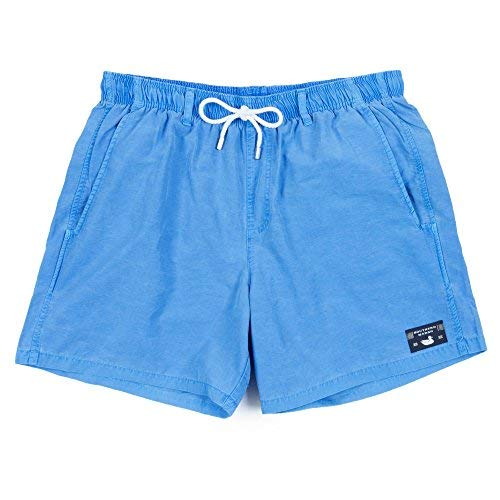 (Southern Marsh Shoals Seawash Swim Trunk, Breaker Blue, Large)
