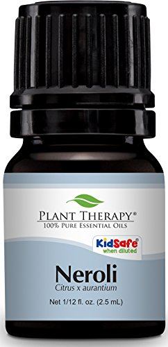 Plant Therapy Neroli Essential Oil 2.5 mL (1/12 oz) 100% Pure, Undiluted, Therapeutic ()