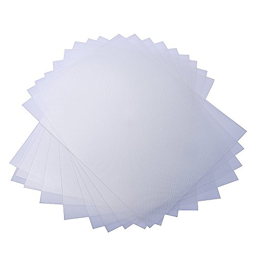 Rayson 0.3mm/12 mil Thickness PP Twill Plastic Cover 8-1/2