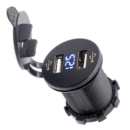 BlueFire Charger Socket Outlet Voltmeter