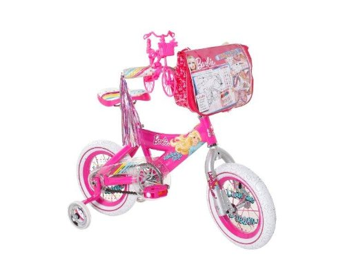 "Girl's Barbie 1"" Bike..."