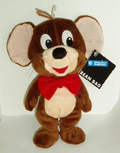 Warner Bros Studio Store Bean Bag 1998 Mouse - Jerry Stuffed Animal Plush