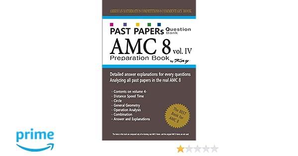 Past Papers Question Bank AMC8 [volume 4]: amc8 math preparation
