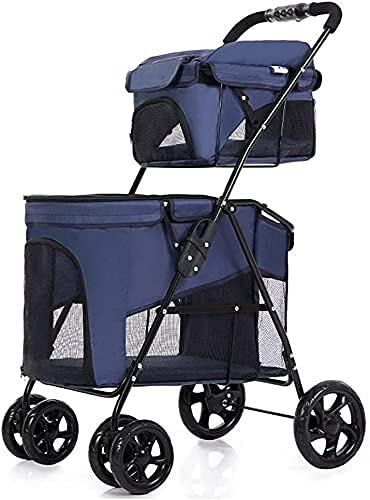 Lightweight Baby Stroller Portable Easy Walking Folding Travel Pet Double Stroller