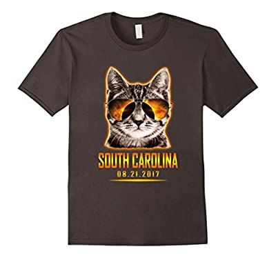 Cat Is Watching South Carolina Total Solar Eclipse T-shirt