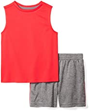 Spotted Zebra Boys Active Tank and Shorts Set