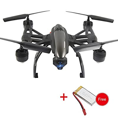 Dazhong JXD 6 axis gyro 5.8G FPV Drone with 2.0MP HD Real-time Aerial Camera, High Hold Mode &Headless Mode &One Key Return RC Quadcopter And Extra Battery 509G