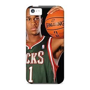 Dvh1176YYUI Nba Basketball Milwaukee Bucks Rookies Awesome High Quality Iphone 5c Case Skin