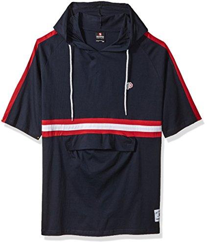 - Southpole Men's Big and Tall Short Sleeve Colorblock Fashion Tee, Navy(Hoody), 5XB