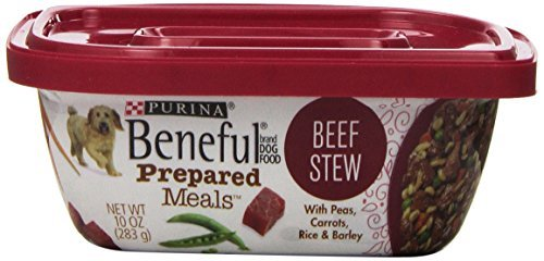 Beneful Wet Dog Food, Prepared Meals, Beef Stew, 10-Ounce Tub by Purina Beneful Review