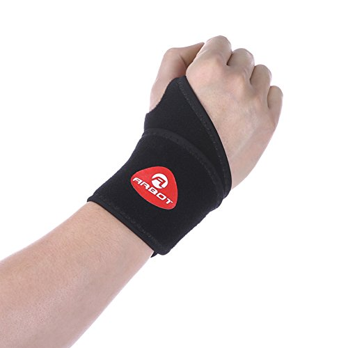 ELEOPTION Breathable Wrist Brace Wrist Protection Wrist Support with Carpal Tunnel RSI Arthritis Tendonitis Sprains Suitable for Women and Men Left or Right Hand, 1 PCS