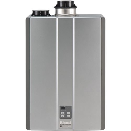 Commercial Tankless Hot Water (Rinnai RUC98iN Ultra Series Natural Gas Tankless Water Heater, Concentric/Twin Pipe)
