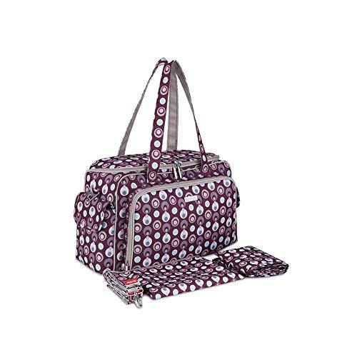 Taille coloré Sac Gris Moontang Gris bandoulière pour Femme Violett Gris 8wgFqB