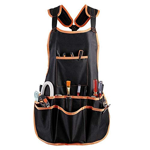 Promotional Oxfords - Work Apron tool 16 Tool Pockets tool belt Adjustable vest Tool Apron for mans B5