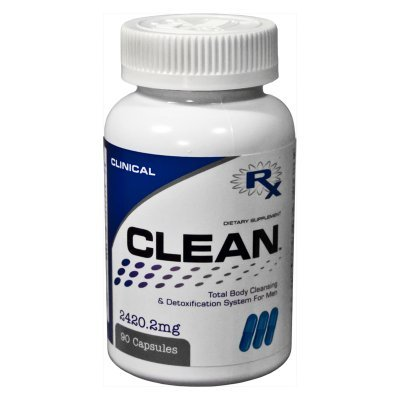 CLEAN™ FOR MEN - Detoxes Liver and Supports Detoxifier and Regenerator for MEN Weight Loss Body Cleanse by Reaction Nutrition Clinical
