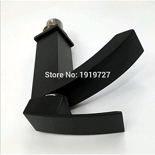 chic PST@ European 100% Solid Copper Hot Cold Mixer Tap Matte Black Waterfall Bathroom Vessel Wash Basin Faucet