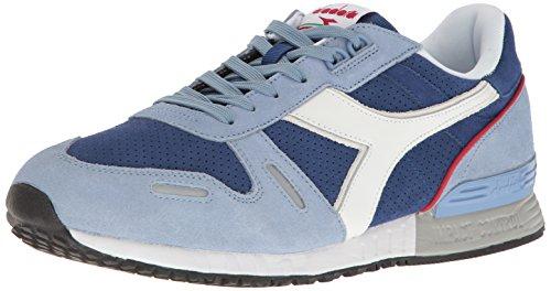 Diadora Mens Titan Premium Sneaker Forever Blue