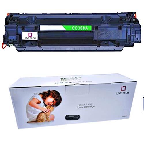 Live Tech 88A Toner Cartridge for HP Laserjet Printer M1136 MFP P1007 P1106 P1108 P1008 M1213nf MFP M126nw MFP M1218nfs M128fw MFP M128fn MFP M226DW M