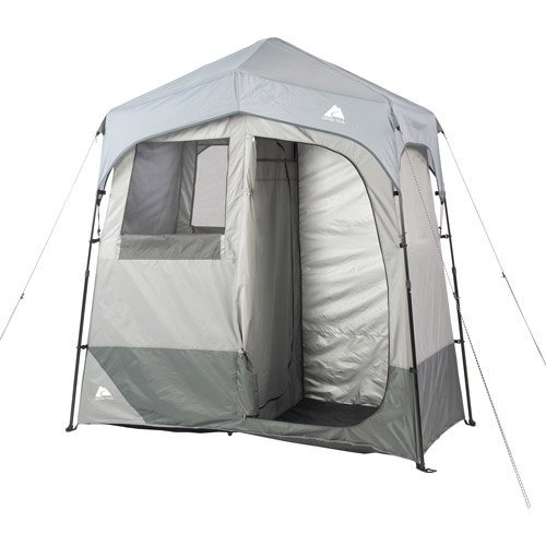 Ozark Trail Instant 2-Room Shower/Changing Shelter Outdoor by Ozark Trail